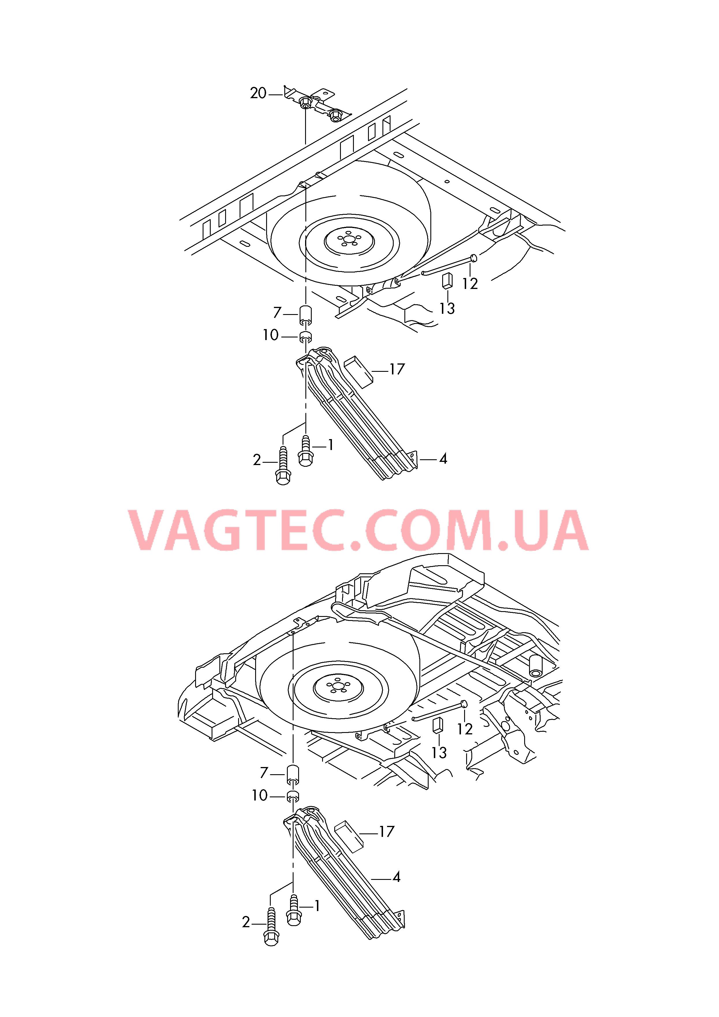 Крепление запасного колеса на фольксваген транспортер цепной транспортер к4 утф